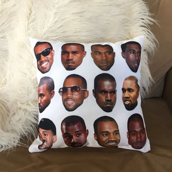 Kanye Emotions Pillow