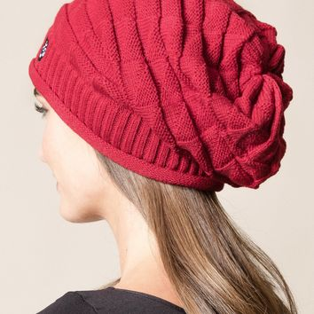 Om Slouch Beanie