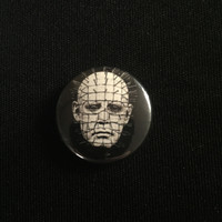 "HELLRAISER 1"" button"