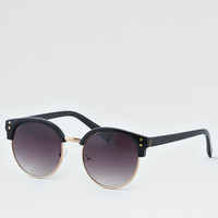 Black Round Sunglasses, Black