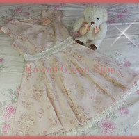 Liz Lisa - My Melody 2014 Fukubukuro Collaboration Floral Sleeveless Dress (NwT)