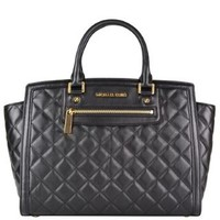 Quilted Selma Messenger Bag