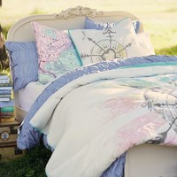 Junk Gypsy Follow Your Heart Quilt + Sham