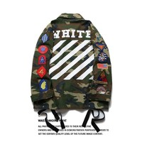 hcxx Off White Pyrex jacket