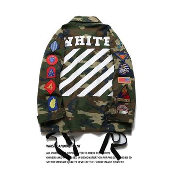 SPBEST Off White Pyrex jacket