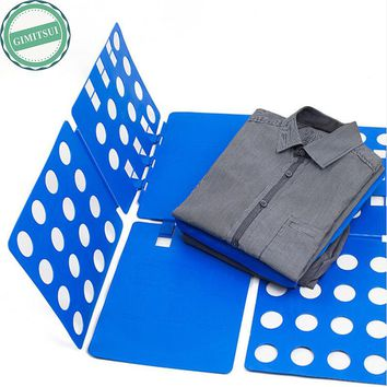 Adult Child Dress T-Shirt Fold Cloth Flip Folder Board Organizer, Laundry Clothing Fast Speed Organizer T Shirt Large Fold Board