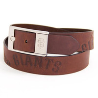 San Francisco Giants MLB Brandish Leather Belt Size 38