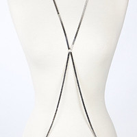 Cross Fit Flat Square Body Chain