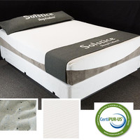 "Queen Finland 9"" Memory Foam Mattress Set"