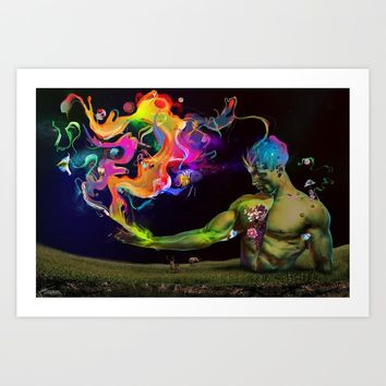 Alchemy Resonance Art Print by archann