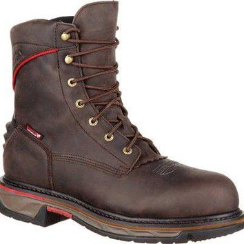 """8"""" Iron Skull CT WP Western Boot RKW0204"""