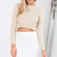 Point At Me Skirt in White