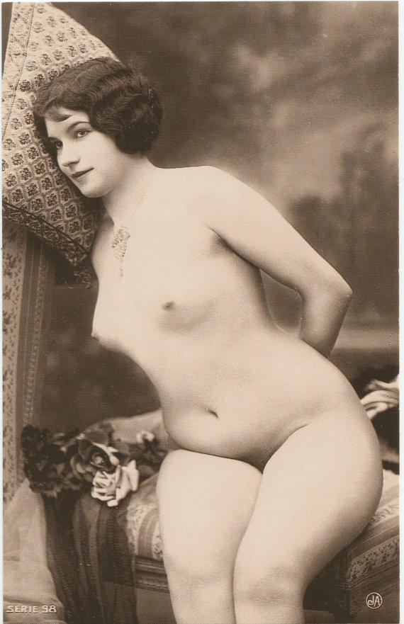 old postcard nude photos vintage reproduction 20s porn from 20s photog more