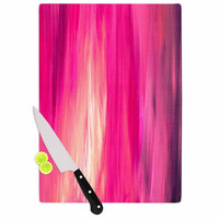 "Ebi Emporium ""Irradiated Fuchsia"" Magenta Pink Cutting Board"