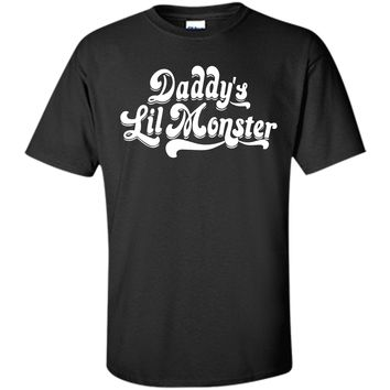 Daddy's Lil Monster Halloween Costume T-Shirt