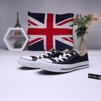 """""""Converse All Star"""" Unisex Casual Classic Low Help Canvas Shoes Couple All-match Flat Cloth Shoes"""