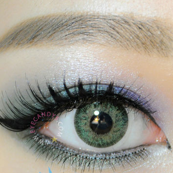 GEO Sparkling Green Color Contact Lens