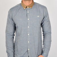 Barbour International Burnout Shirt MSH2992 - Indigo