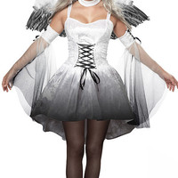 Ghost Bride Cosplay Anime Cosplay Apparel Holloween Costume [9211504388]