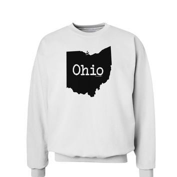 Ohio - United States Shape Sweatshirt by TooLoud