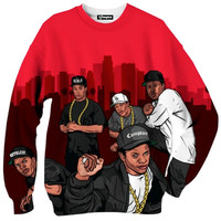 Straight Outta Compton Cartoon Crewneck