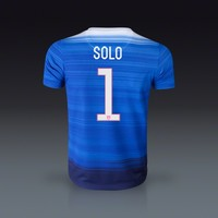 Nike Hope Solo USA Youth Away Jersey 2015