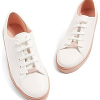Topshop Crush Waterproof Contrast Sole Sneaker (Women) | Nordstrom
