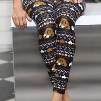Teddy Bear Love leggings