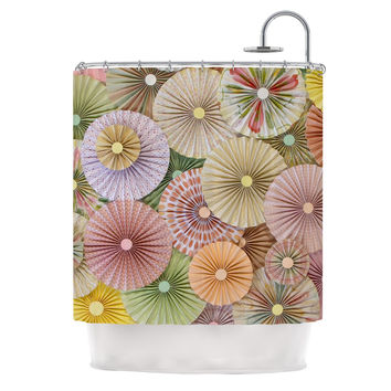 "Heidi Jennings ""Spring"" Pastels Abstract Shower Curtain"