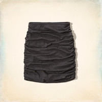 Hollister Ruched Mini Skirt