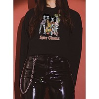 Spice Ghouls Cropped Hoodie