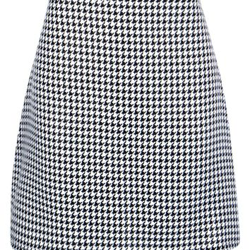 Florence Gingham Woven Mini Skirt