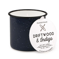 Driftwood and Indigo 9 oz. Alpine Candle
