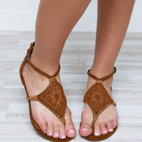 Sundown Sandals - Chestnut