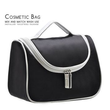 ESBU3C Travel toiletry women cosmetic bag organizer necesser female suitcase for makeup necessaire make up vanity with case