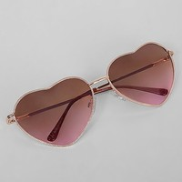 BKE Heart Sunglasses