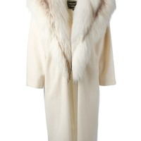 FAUSTO PUGLISI fur collar coat