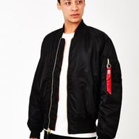 Alpha Industries Classic MA1 Vintage Fit Bomber Jacket Black