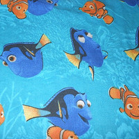 MadieBs Nemo and Friend Custom Fitted Toddler Bed or Crib Sheet New