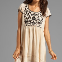 Free People Marina Embroidered Dress in Ivory from REVOLVEclothing.com