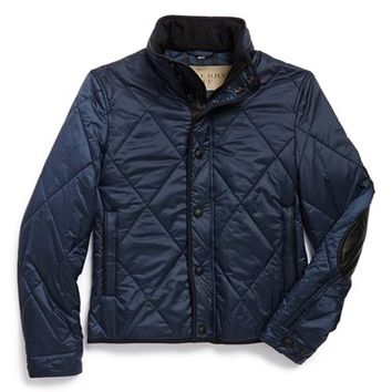 Men's Burberry the Britain 'Templar' Diamond Quilted Jacket,