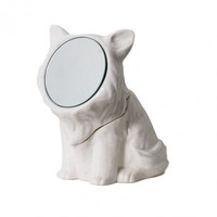 Vanity Companions Cat Mirror Container