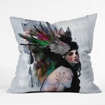 Deniz Ercelebi Mira Throw Pillow