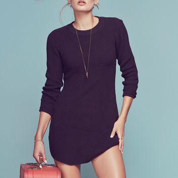 KEEP IT COZY BISHOP SLEEVE DRESS