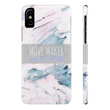 "Spring Watercolor I - CMSlim Phone Cases ""Move Maker No Filter"""