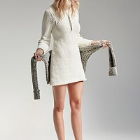 Free People Womens Fashion Me Fabulous Tunic Sweater