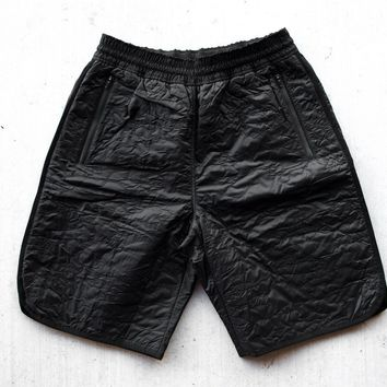 Under Armour TC Quilted Camo Shorts - Black