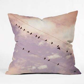 Shannon Clark Angelic Throw Pillow