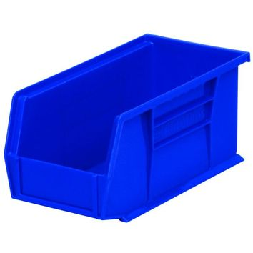 Akro Mils® 30230BLUE AkroBin Plastic Storage Stacking Bin, Blue, 30 lb Capacity