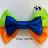 Mad Hatter Inspired Hair Bow - Inspired by Disney's Alice in Wonderland